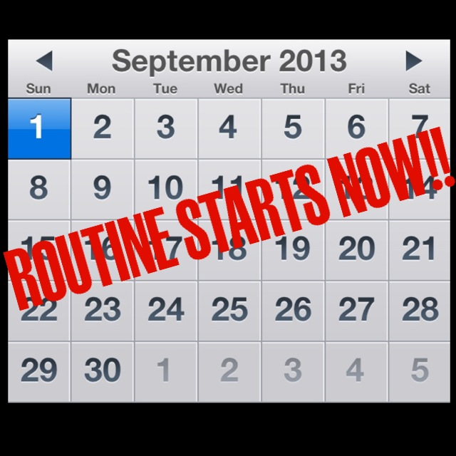 Back to Routine: Live a Healthy Life This Fall