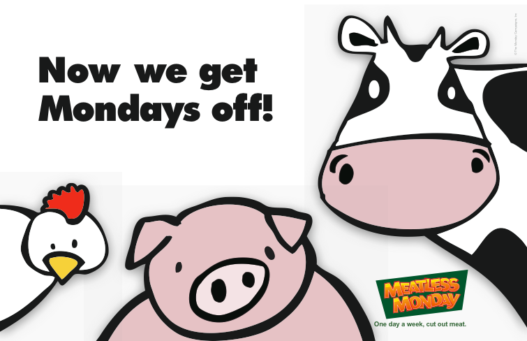 MEATLESS MONDAY as Easy as 1, 2, 3!