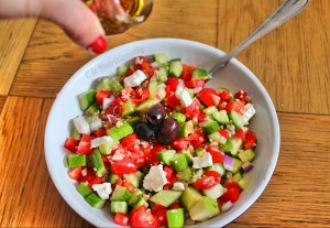 Greek Quinoa Salad | C it Nutritionally