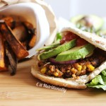 Black Bean Burger | C it Nutritionally