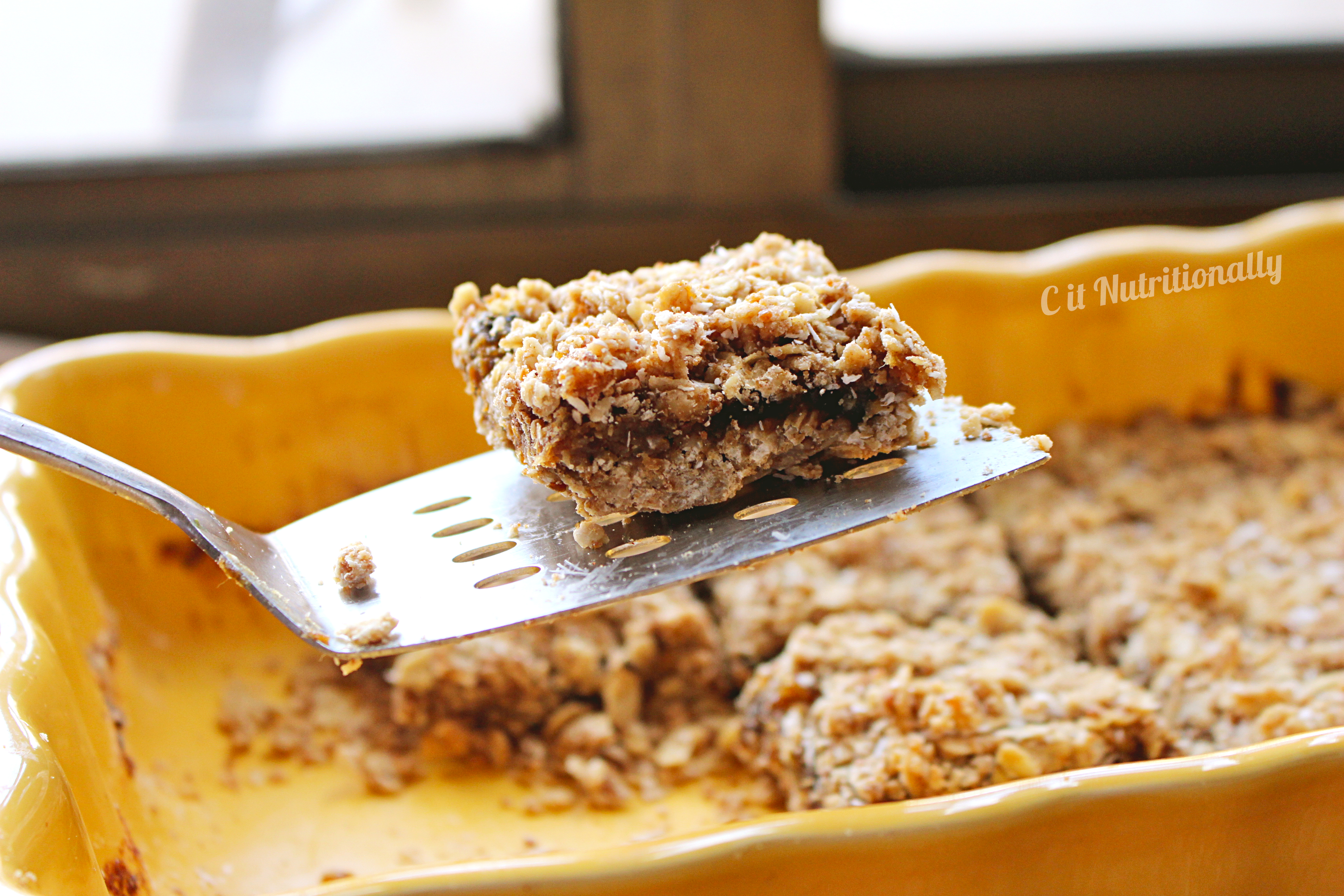 These coconut date bars are flaky on top, gooey in the middle, and all ...