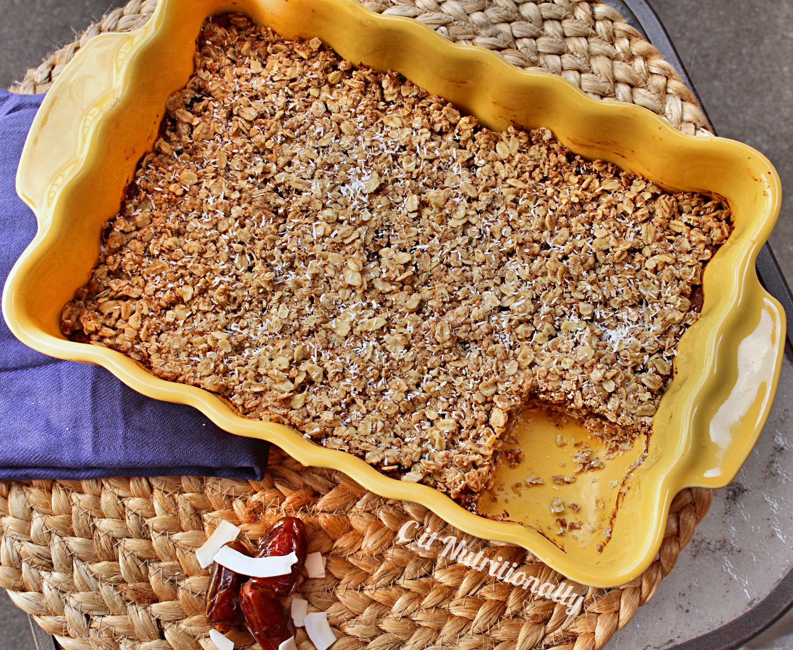 how to cut date squares