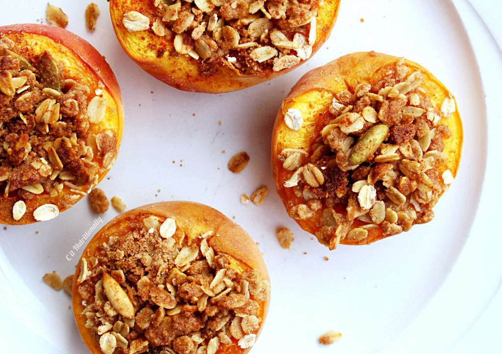Peach Crumble | C it Nutritionally