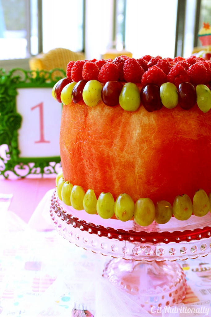 1st Blogiversary + Watermelon Cake | C it Nutritionally