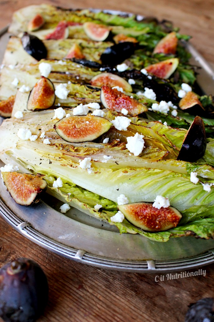 Grilled romaine hearts & figs | C it Nutritionally