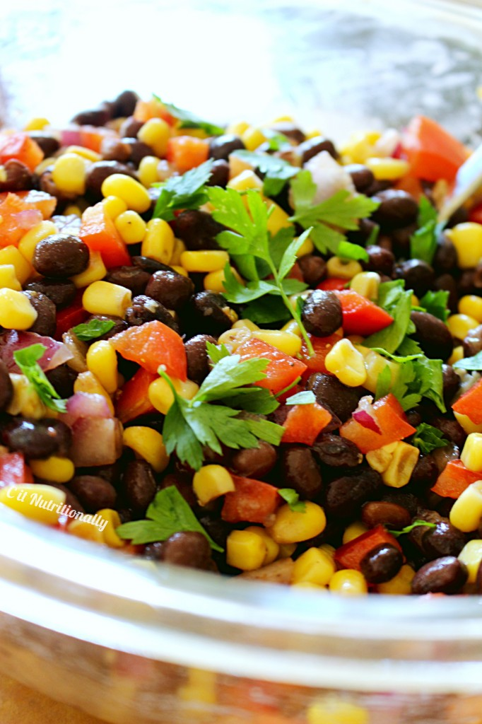 Southwest Summer Corn Salad | C it Nutritionally