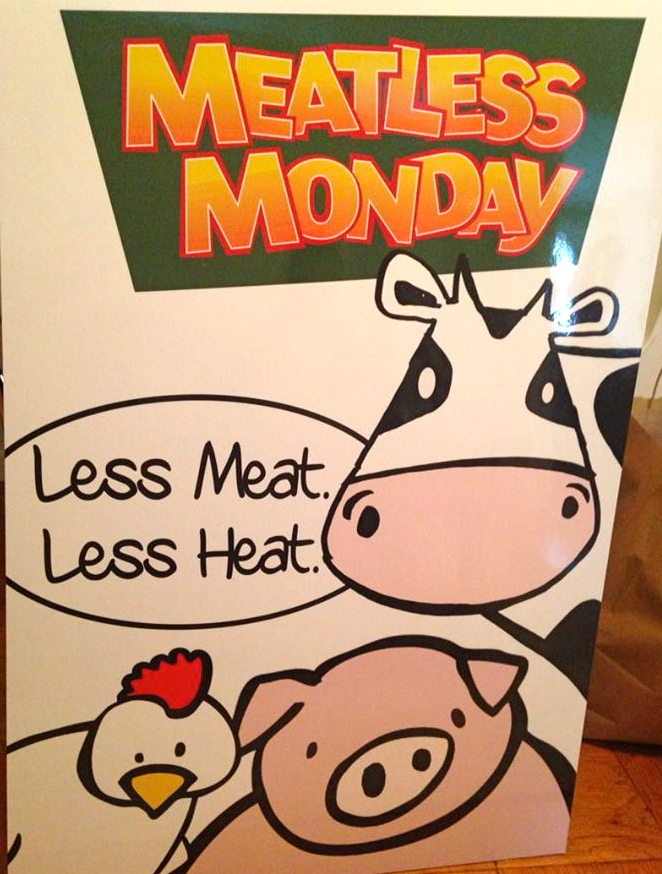Meatless Monday People's Climate Change | C it Nutritionally