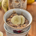 Banana Bread Overnight Oats | C it Nutritionally