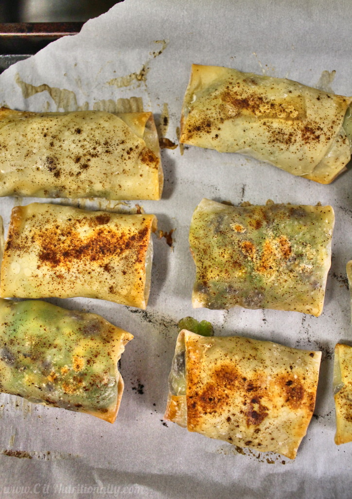 Baked Avocado Egg Rolls | C it Nutritionally