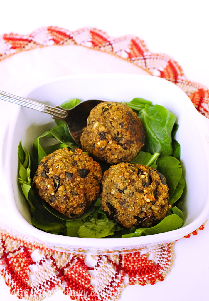 4-Ingredient Eggplant Balls | C it Nutritionally