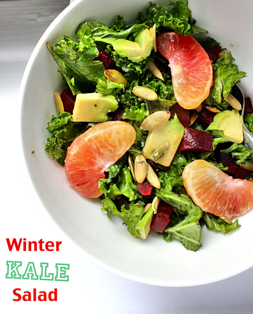 Winter Kale Salad | C it Nutritionally