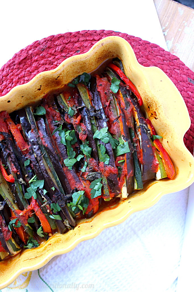 Vegan Baked Ratatouille | C it Nutritionally