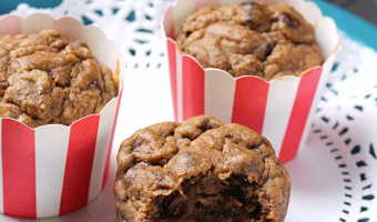 Vegan Banana Bread Muffins with No Added Sugar