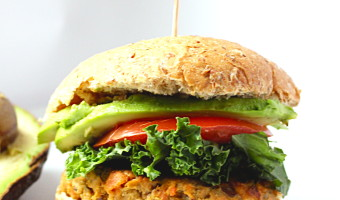Salmon Avocado Burgers