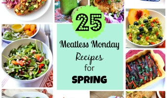 25 Meatless Monday Recipes for Spring | C it Nutritionally #vegan #vegetarian #glutenfree