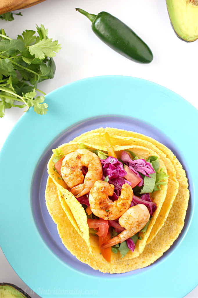 Classic Shrimp Tacos | C it Nutritionally #paleo #glutenfree