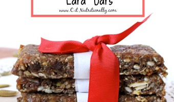 Nut-Free Chocolate Chip Lara Bars