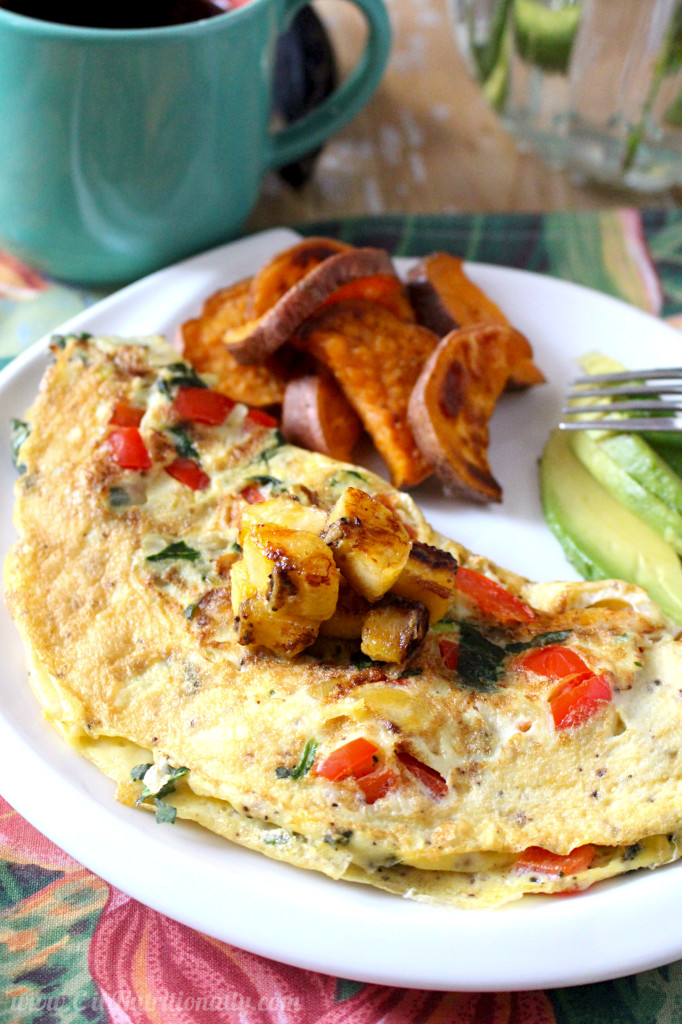 Puerto Rican Omelette | C it Nutritionally