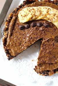 Vegan Chocolate Banana Pudding Pie | C it Nutritionally #dairyfree #vegetarian #nutfree #peanutfree #dessert