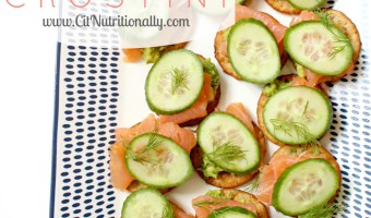 Friends Who Brunch + Smoked Salmon Avocado Crostini Recipe