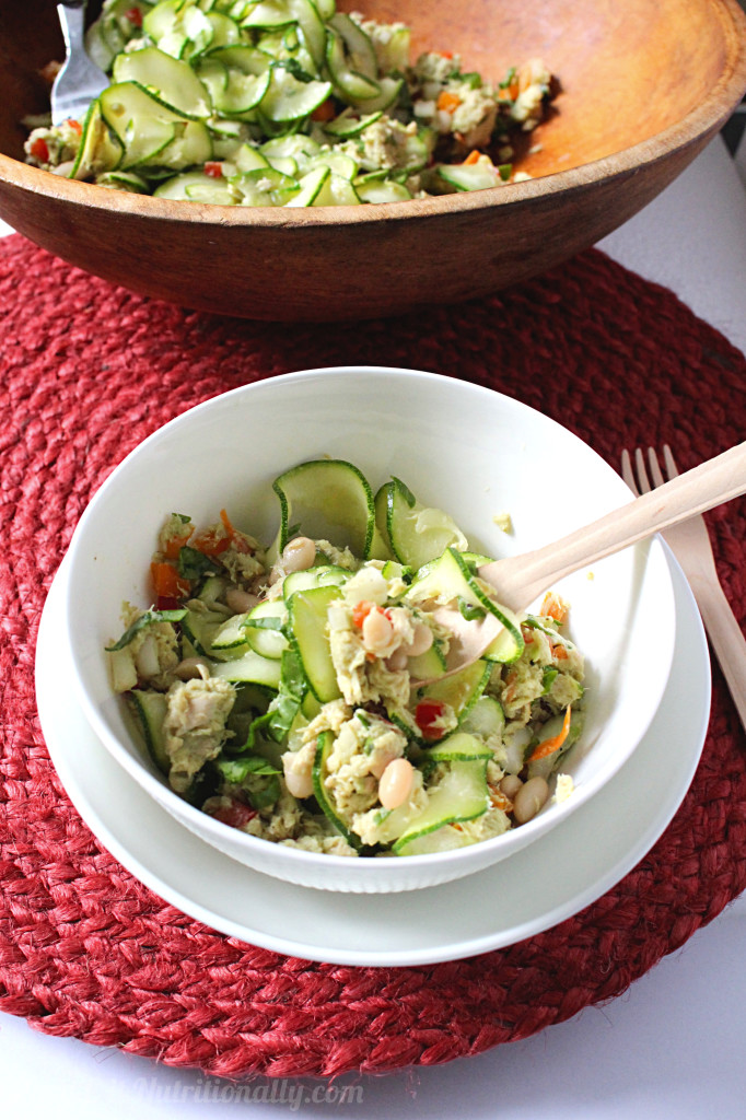 Healthy Tuna Noodle Salad | C it Nutritionally