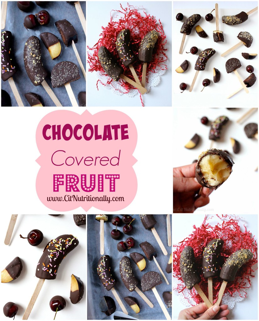 Chocolate Covered Fruit | C it Nutritionally #vegan #glutenfree #dessert #dairyfree #soyfree