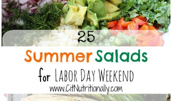 {Labor Day BBQ Recipes} 25 Summer Salads You Need At Your BBQ