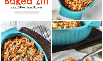 Protein Packed Healthy Baked Ziti + Giveaway