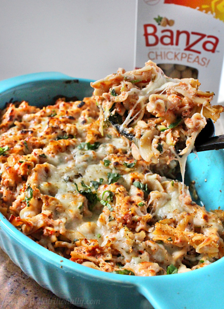 Protein Packed Healthy Baked Ziti | C it Nutritionally #grainfree #glutenfree