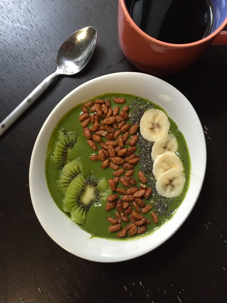 Smoothie bowl! What I Ate Wednesday 7 | C it Nutritionally #vegan #glutenfree