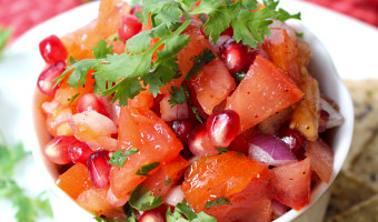 5-Ingredient Pomegranate Salsa