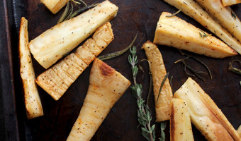 Simple Roasted Parsnips + What I Ate Wednesday 7