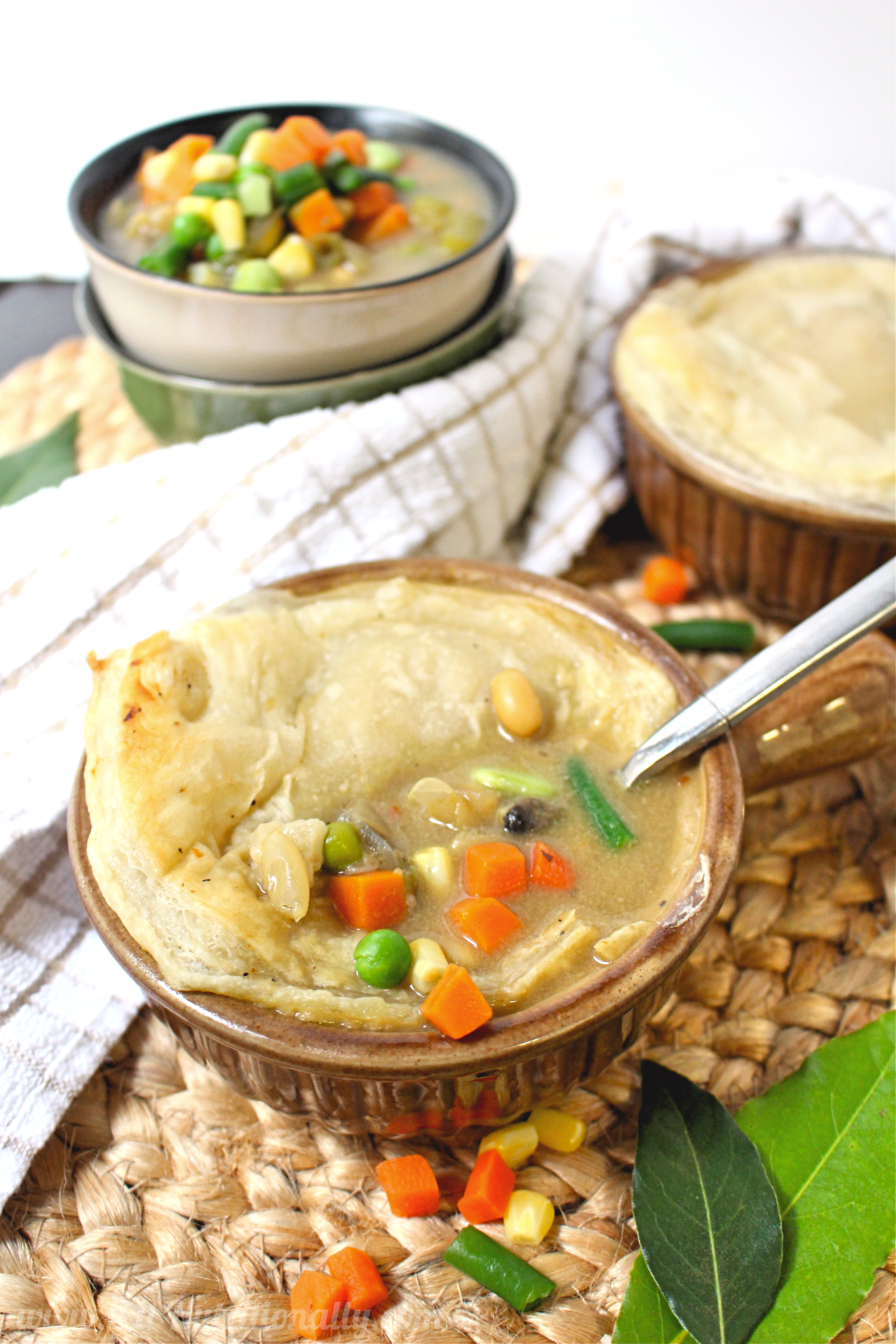 Veggie Pot Pie Soup | C it Nutritionally
