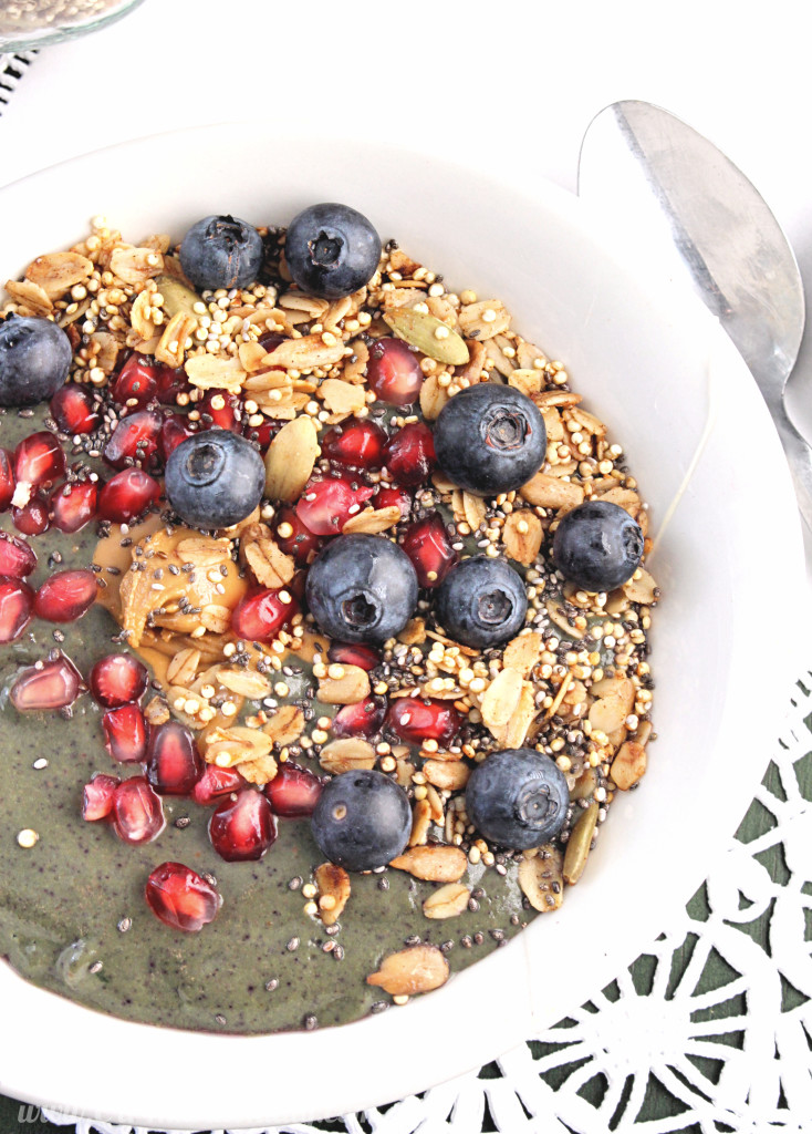 Power Smoothie Bowl with Quinoa Granola | C it Nutritionally