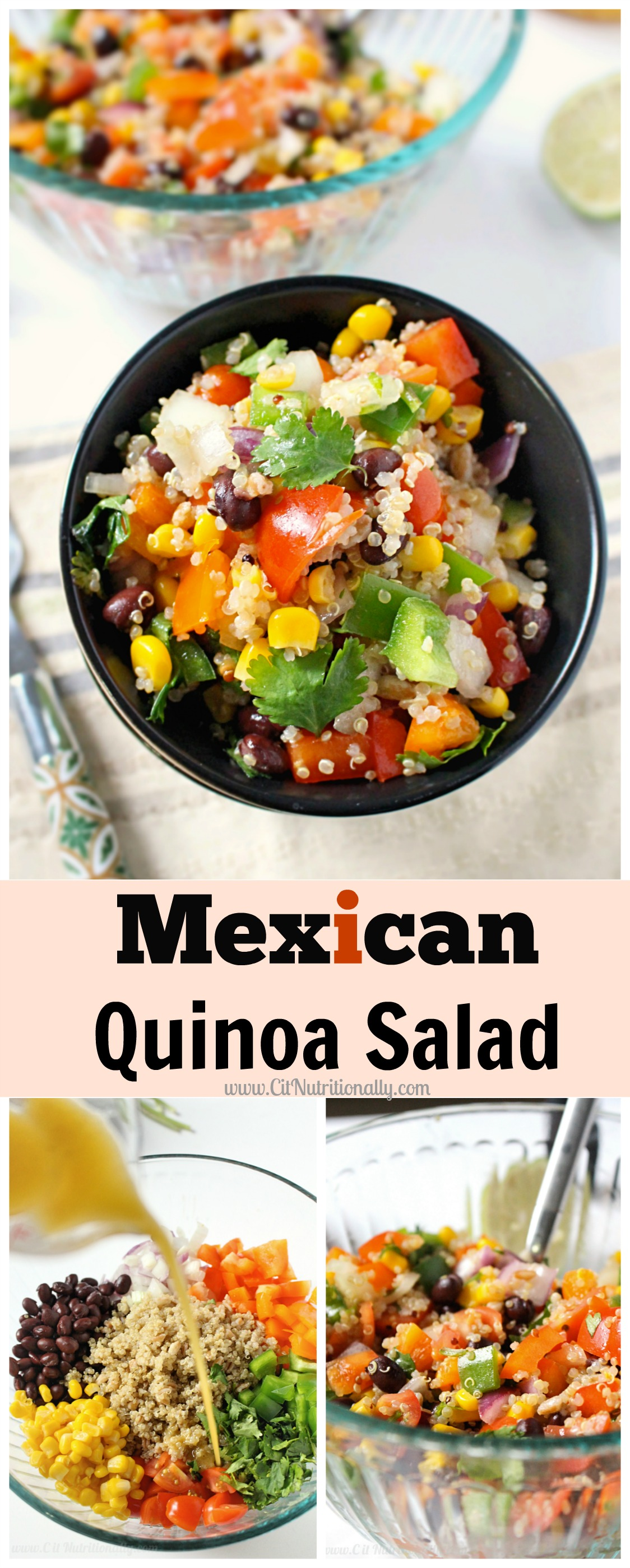 Mexican Quinoa Salad | C it Nutritionally