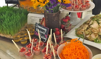 """Dietetic Internship Update: """"March Into Spring"""" Market Table Event"""