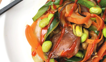 {Weeknight Cooking} Simple Veggie Stir Fry