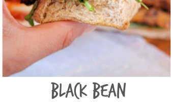 Black Bean Sweet Potato Burgers {vegan | gluten free | grain free}