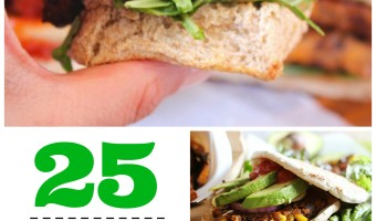 25 Insanely Delicious Veggie Burger Recipes