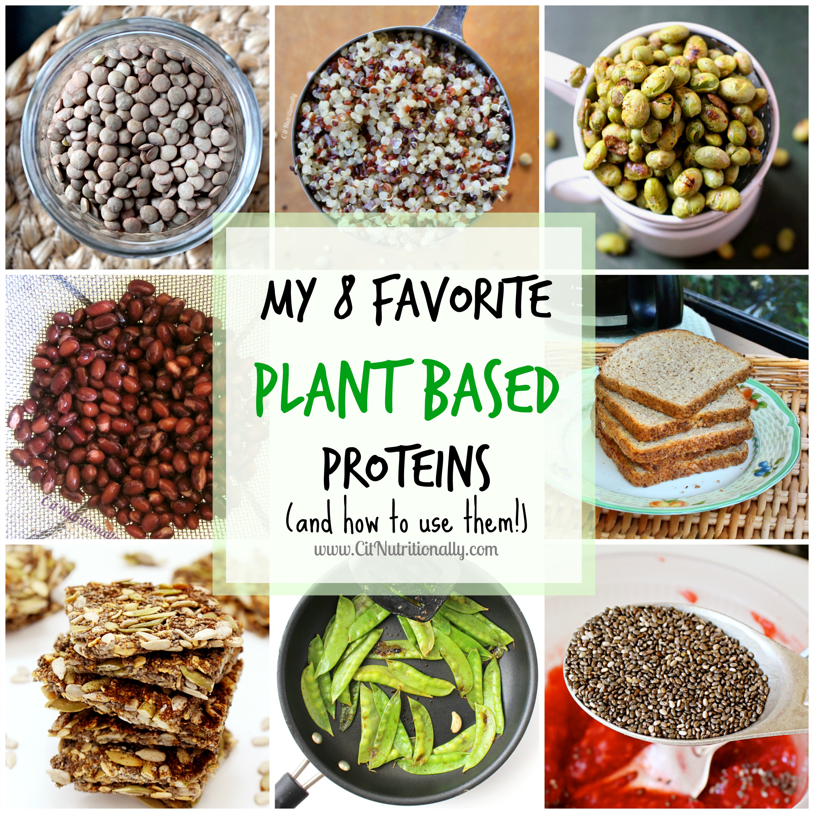 My 8 Favorite Plant Based Proteins and how to use them! | C it Nutritionally #vegan #vegetarian #MeatlessMonday #ShopWithYourHeart