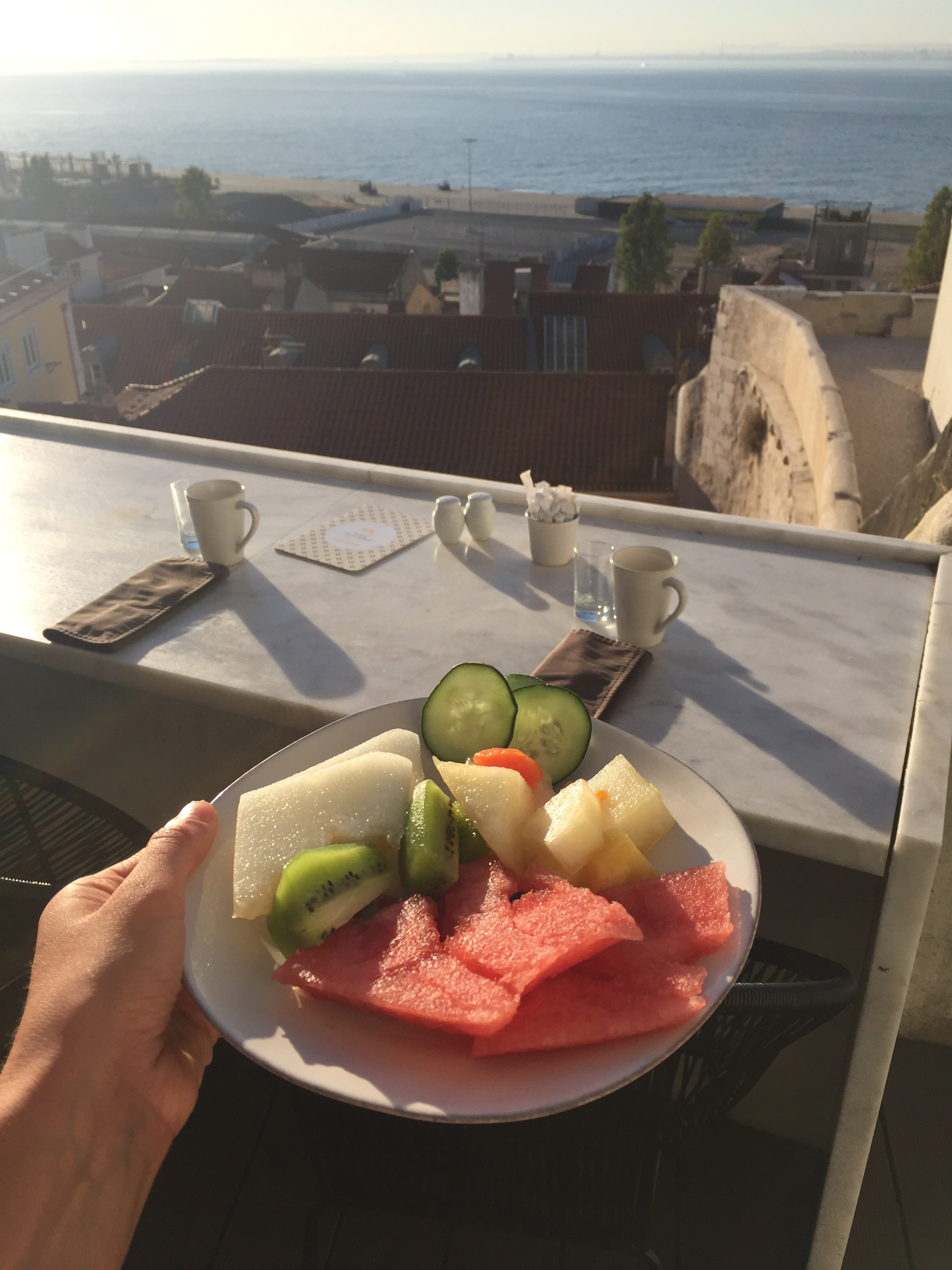 What I Ate Wednesday 35 - A Day of Eats from Lisbon, Portugal | C it Nutritionally