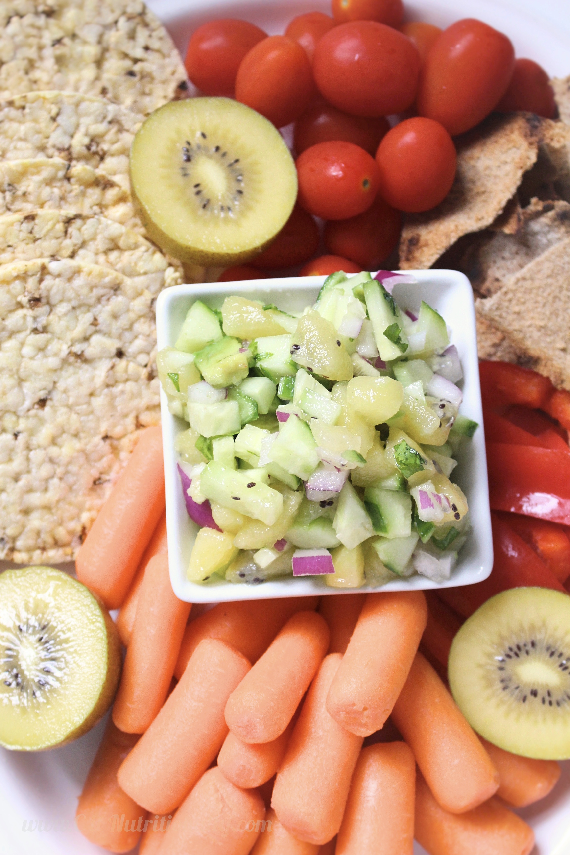 Kiwi and Cucumber Salsa | C it Nutritionally