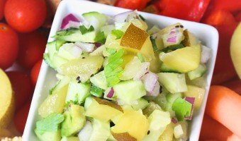 Kiwi and Cucumber Salsa