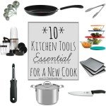 10 Kitchen Tools Essential for a New Cook