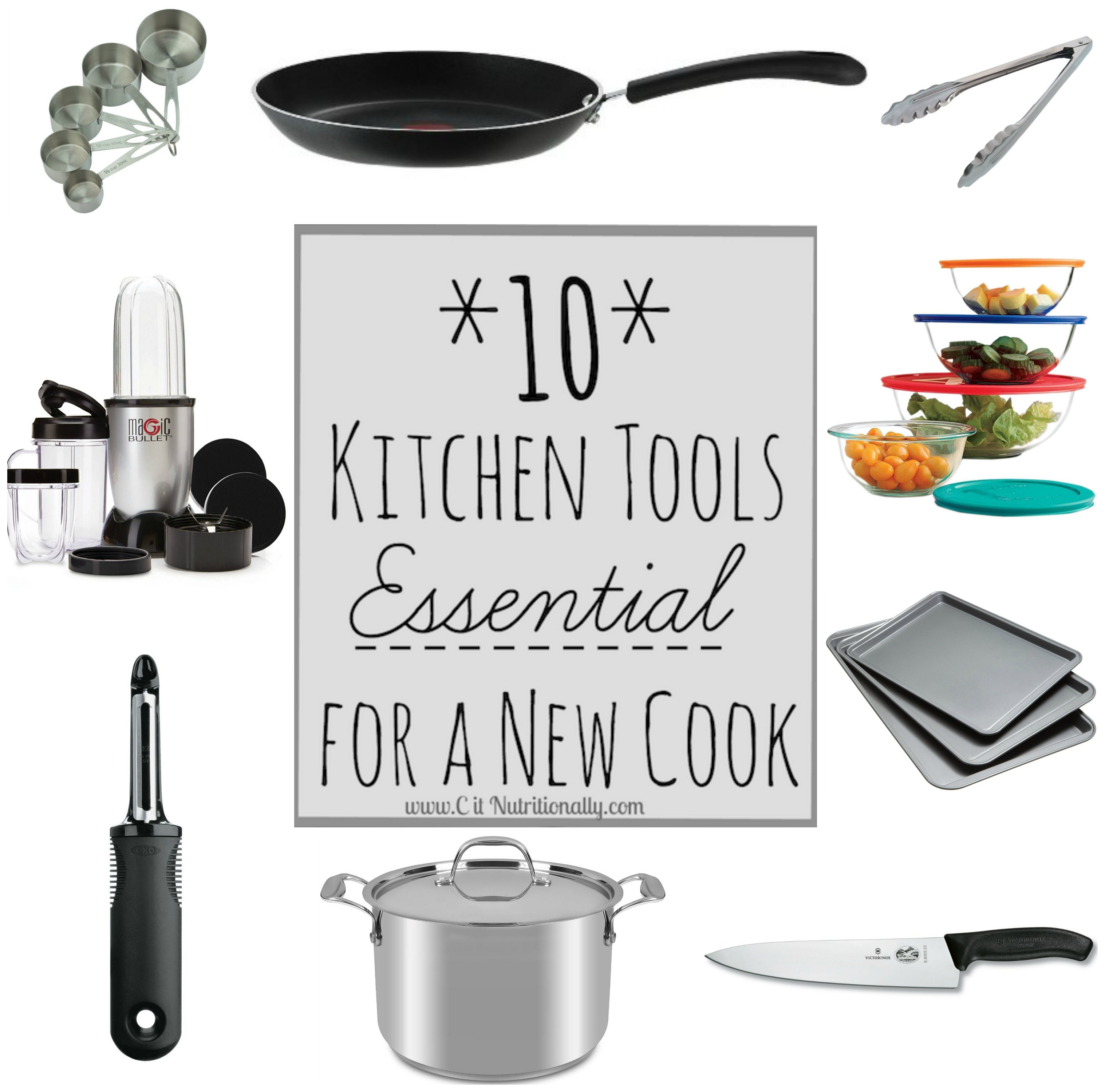 10 kitchen tools essential for a new cook c it nutritionally