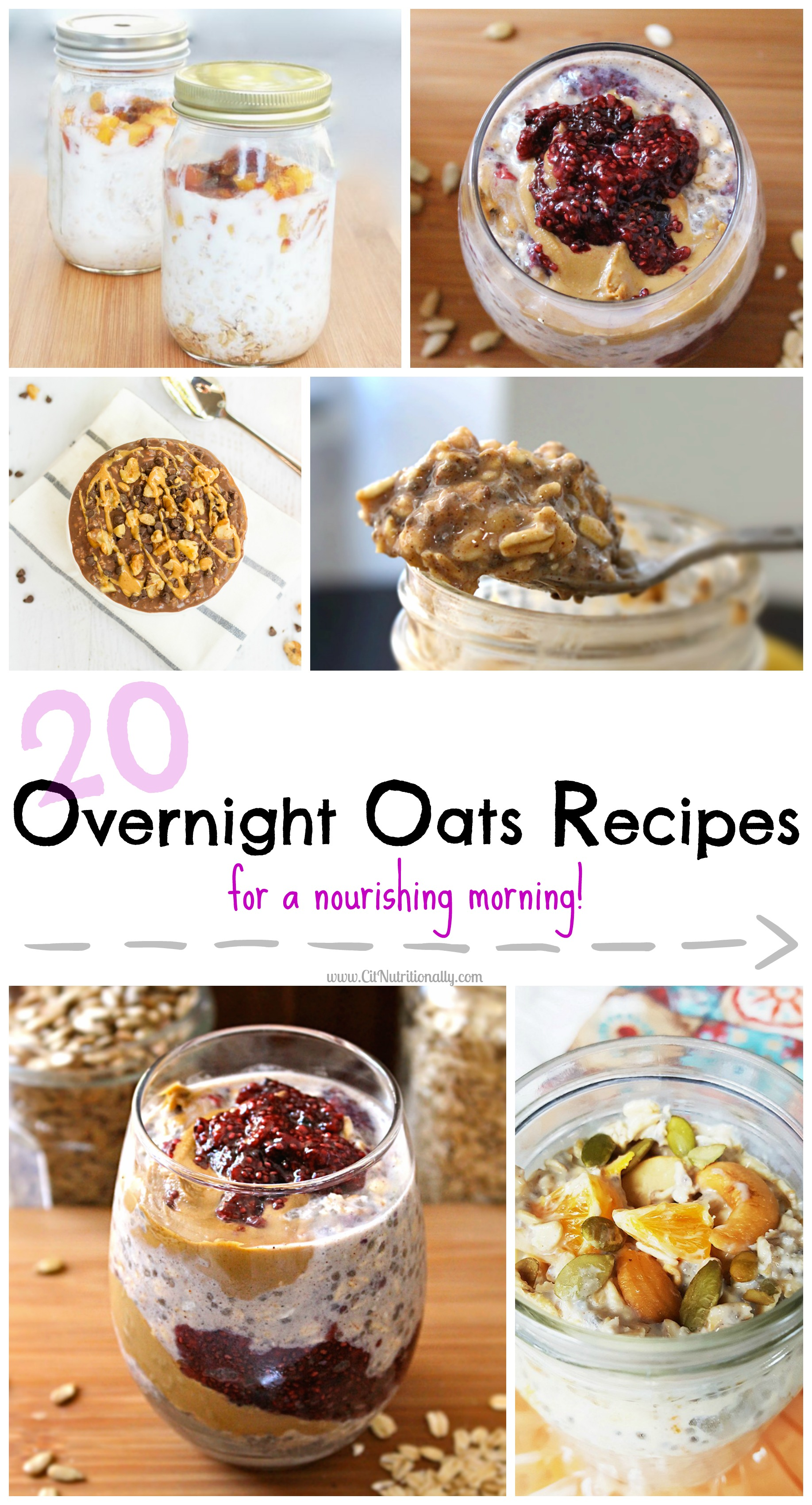 20 Overnight Oats Recipes for a Nourishing Morning | C it Nutritionally