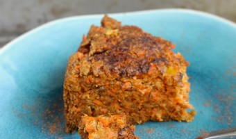 Healthier Carrot Pudding