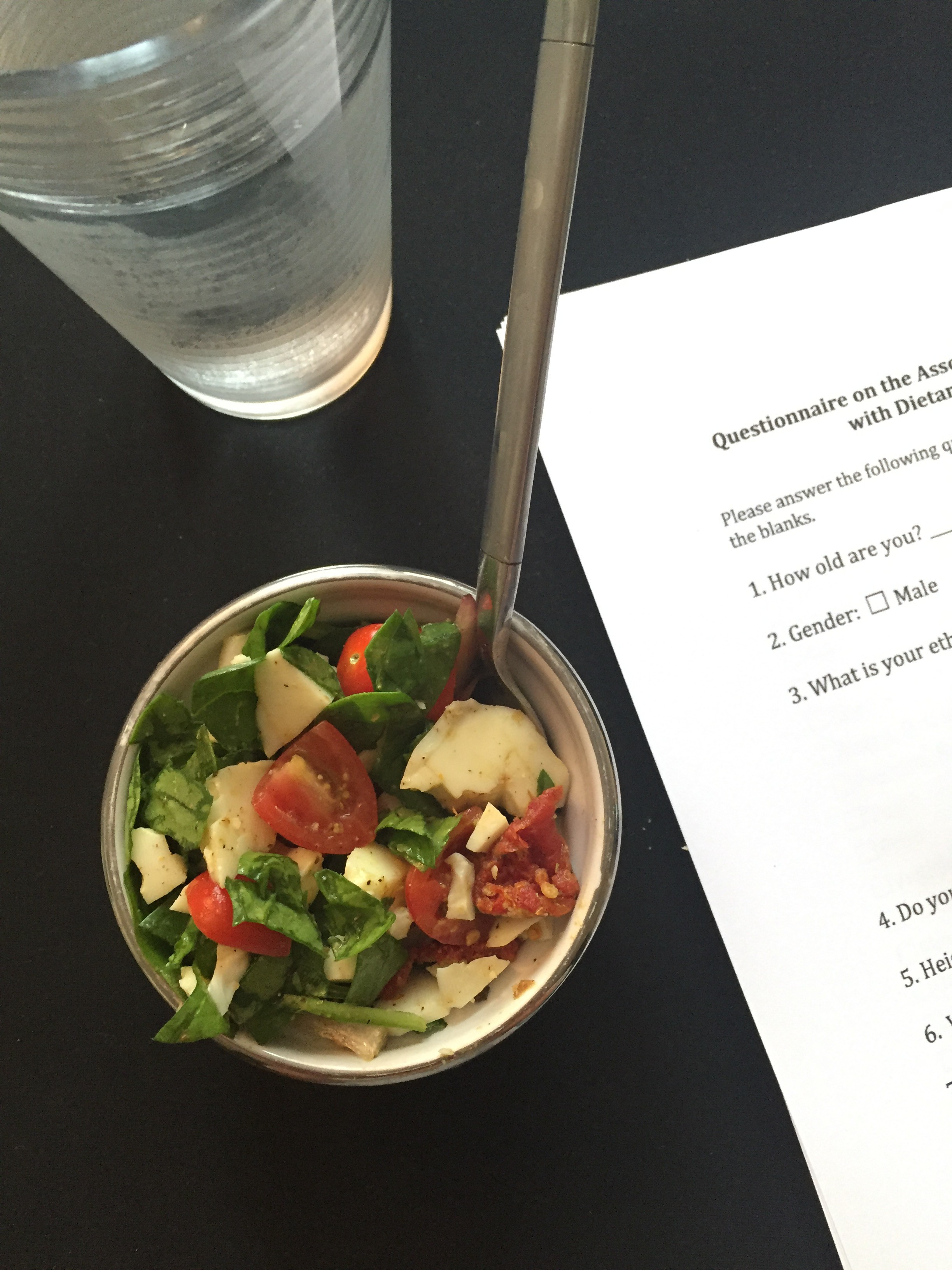research paper on spinach Consumers' response to the 2006 foodborne illness outbreak linked to spinach topics ers research in this topic area focuses on the economic.