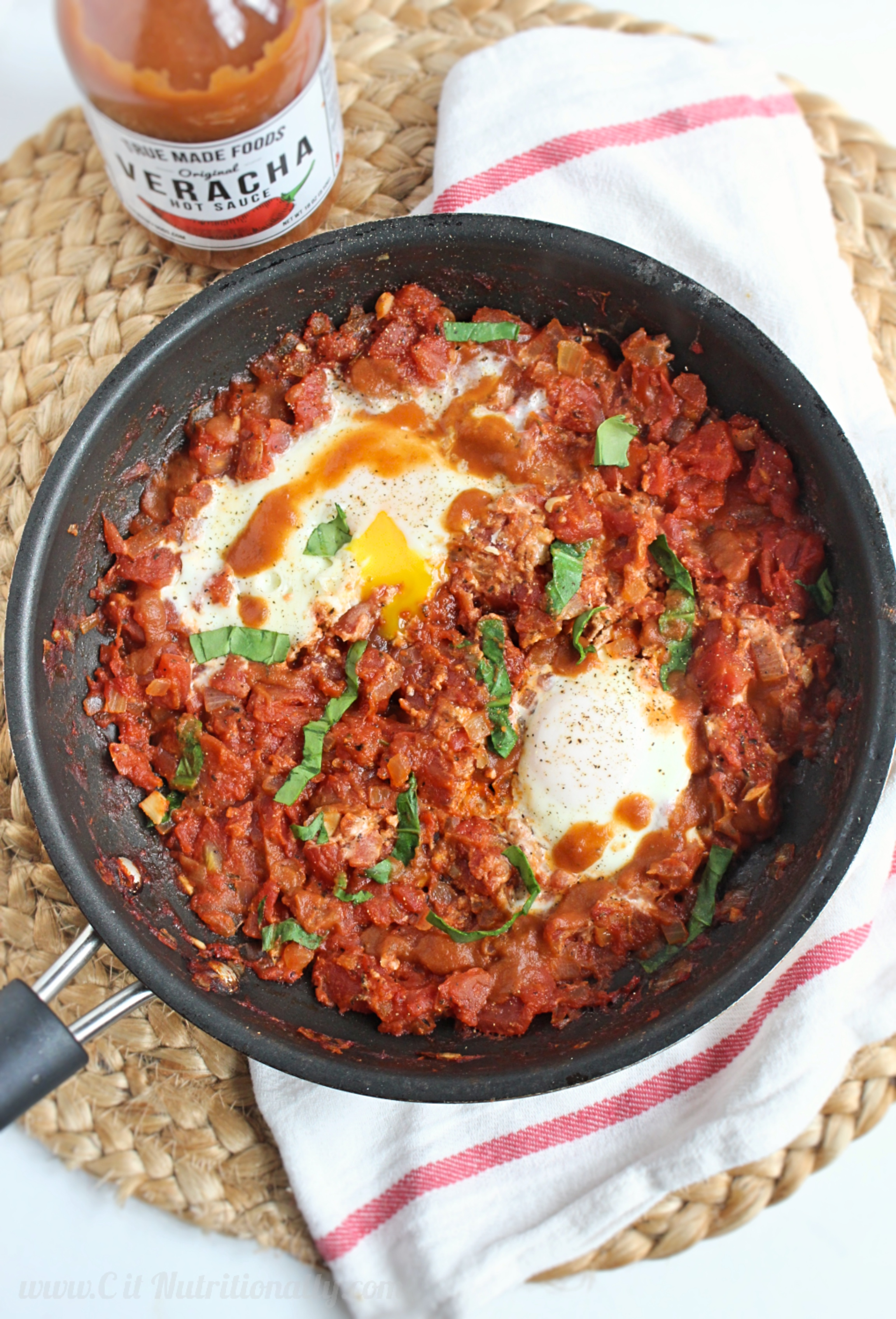 Simple and Spicy Shakshuka | C it Nutritionally