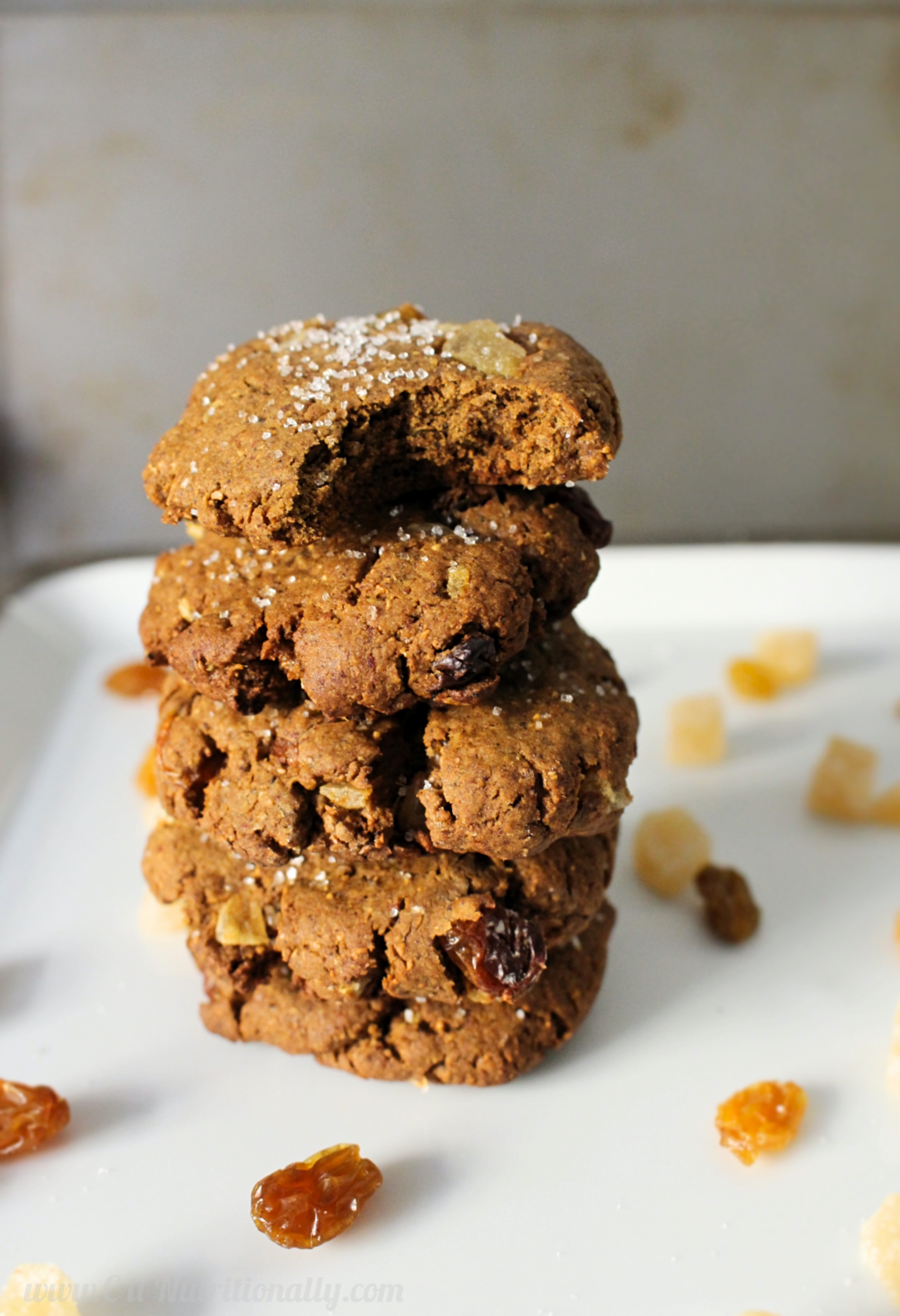 Spicy Ginger Cookies | C it Nutritionally #vegan option #nutfree # ...